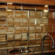Mattone di vetro rettangolare / a specchio / a muro