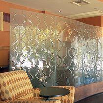 Pannello in vetro per parete / per arredamento di interni / per uso residenziale / per uso professionale