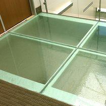 Pannello in vetro per pavimento / per ufficio / per edilizia / decorativo