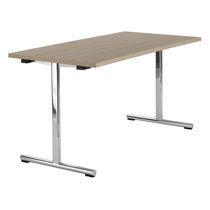 Tavolo da lavoro moderno / in legno / in HPL / in acciaio