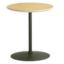 Tavolo da bistrot moderno / in acciaio / rotondo / professionale