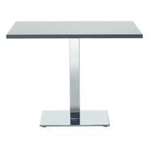 Tavolo da riunione moderno / in metallo / rettangolare