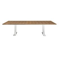 Tavolo da conferenza moderno / in legno / in HPL / in acciaio