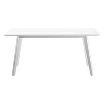 Tavolo moderno / in legno / rettangolare / ovale