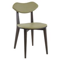 Sedia moderna / in legno / per uso contract