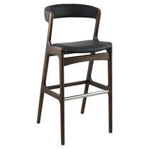 Sedia alta moderna / legno / in legno
