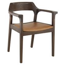 Poltrona moderna / in legno / per uso contract