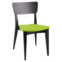 Sedia moderna / impilabile / in legno / per uso contract