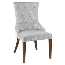 Sedia moderna / imbottita / in legno / per uso contract