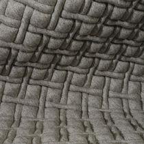 Tessuto da tappezzeria / a motivi geometrici / in poliestere / in lana