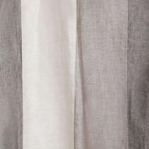 Tessuto per tende / a righe / in lino / in fibra vegetale