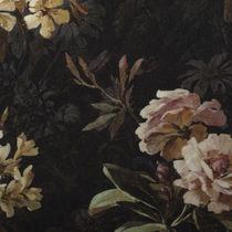 Tessuto da tappezzeria / con motivi naturali / in velluto