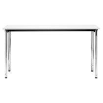 Tavolo moderno / in metallo / in laminato / rettangolare