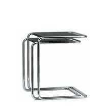 Tavolino estraibile moderno / in metallo / in legno / in vetro