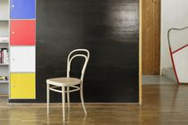 Sedia classica / in tessuto / in legno curvato / in pelle