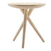 Tavolo d'appoggio moderno / in quercia / in noce / in frassino