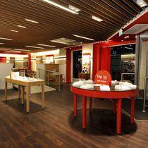 Piastrella flessibile da interno / da pavimento / in vinile / aspetto legno