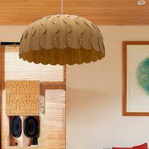 Lampada a sospensione / moderna / in bambù / da interno