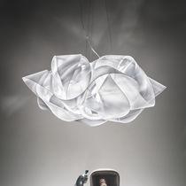 Lampada a sospensione / design originale / in tessuto / in Lentiflex®