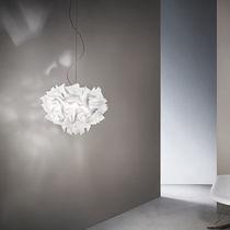 Lampada a sospensione / design originale / in Opalflex® / fatta a mano