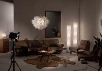 Lampada da terra / design originale / in Opalflex® / da interno