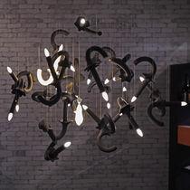 Lampadario su misura / design originale / in porcellana / LED