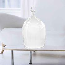 Lampada su misura / da tavolo / design originale / in vetro