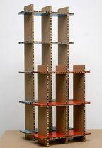 Scaffale modulabile / moderno / in cartone