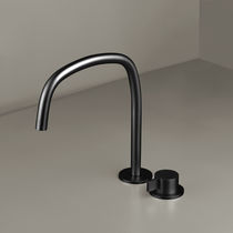 Miscelatore per lavabo / da doccia / da bancone / in metallo cromato