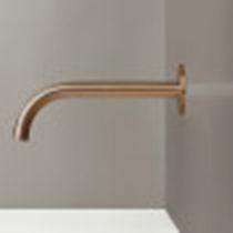 Bocca per lavabo in acciaio inossidabile / in rame