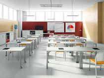 Tavolo per corsi di formazione moderno / in laminato / rettangolare / per edifici pubblici