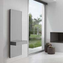 Specchio a muro / luminoso a LED / moderno / rettangolare