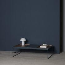 Tavolino basso moderno / in quercia / in noce / in MDF laccato
