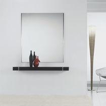 Consolle moderna / in quercia / in acciaio inox verniciato / rettangolare