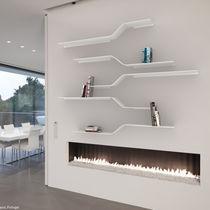 Mensola / modulare / design minimalista / in alluminio