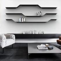 Scaffale modulare / design minimalista / in acciaio laccato