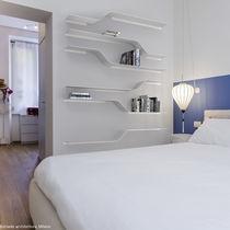 Scaffale modulare / a muro / moderno / in alluminio