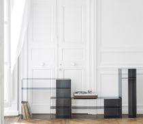 Mobile porta TV design industriale / in acciaio
