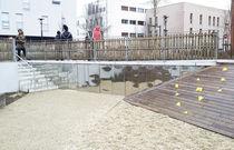 Specchio a muro / deformante / moderno / rettangolare