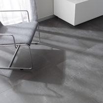 Piastrella per pavimento / in gres porcellanato / opaca / aspetto cemento