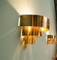 Applique Art Deco / in rame / LED / alogena