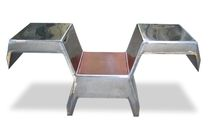 Sedia design originale / con braccioli / con tavoletta / con cuscino rimovibile