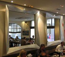 Specchio a muro / ingranditore / sospeso / design nuovo barocco