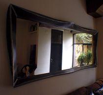 Specchio a muro / sospeso / da sala / in stile industriale