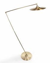 Lampada da terra / design originale / in ottone / da interno