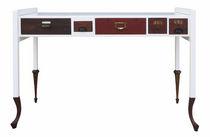 Scrivania in quercia / in legno laccato / design originale / su misura