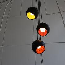 Lampada a sospensione / design originale / in gomma / da interno