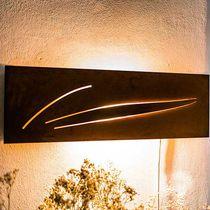 Applique moderna / da esterno / in acciaio COR-TEN® / altre sorgenti luminose