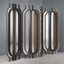Paravento moderno / in legno / in metallo / nero