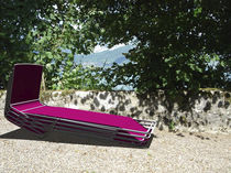 Chaise longue in acciaio inossidabile / outdoor